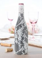 Lace Wine Bottle Cover